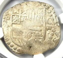 1618-21 Bolivia Philip Iii 8 Reales Coin 8r - Certified Ngc Au53 - Rare Coin