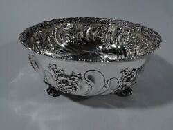 Bowl - 9417 - Fancy Antique Victorian - American Sterling Silver