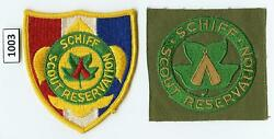 Dealer Dave Boy Scout Schiff Scout Reservation, 50's Square, 60's Patch M 1003