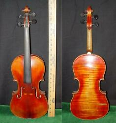 Beautiful Flameback Antique Violin Jacobus Stainer In Absam 1759 In Wooden Case