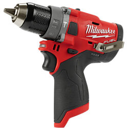 Milwaukee M12 Fpd-0 Hammer Percussion Drill Driver_body Only