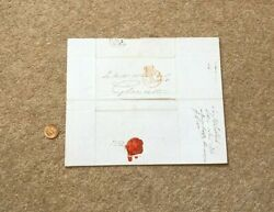 1838 Gb Pre Stamp Paid Entire To Sir Matthew Wood Bart Ex Mayor Of London