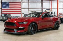 2017 Ford Mustang GT350R 2017 Ford Mustang GT350R 4808 Miles Ruby Red Metallic Coupe 5.2L V8 6-Speed Manu