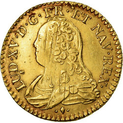 [488209] Coin France Louis Xv Louis Dand039or Aux Lunettes Louis Dand039or 1731