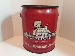 Vtg Nulomoline The Honey Of Sugar Advertising Tin Collect. Made By Canco 1936