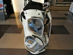 Design Tuning Stand Type Golf Club Bag2020 Model Limited 100 Units Silk White