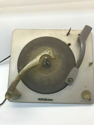 Victrola 1950s Rca Victor Orthophonic Record Player Mechanism