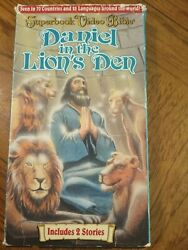 Daniel In The Lions Den And The Patience Of Job Vhs Bible Family Animation