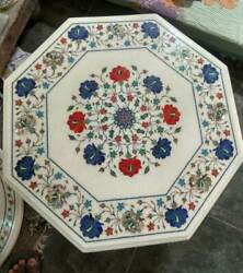 3and039 Marble Dining Coffee Center Table Top Mosaic Inlay Work F13