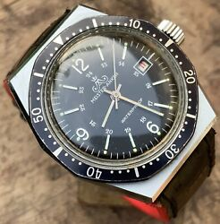 Meister Anker Taucher Diver Germany Wrist Watch 1970and039s