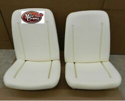 1966 1967 1968 Gto Tempest Bucket Seat Foam Bun Set Of 2 Made In The Usa In Stk