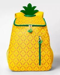 Sun Squad Pineapple Backpack Cooler Insulated Liner 20 can Target $79.99