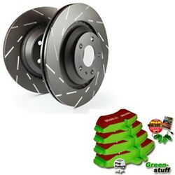Ebc B10 Brake Kit Front Pads Discs For Land Rover Discovery 4 La