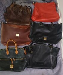 Dooney And Bourke Leather Rehab Lot *6* Bags $80.00