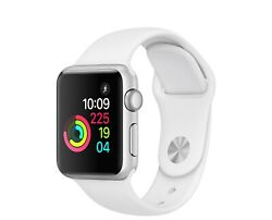 Apple Watch Series 2 - 38mm - Gold Case - Pink Sport Band Gps