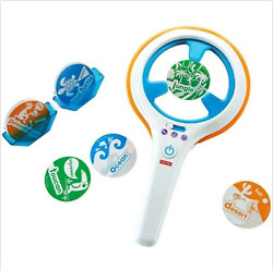 Fisher-price Think And Learn Smart Scan Word Dash Preschool 3-6 Open/ugly Box