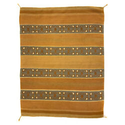 Glenna Bah Hardy - Navajo Wide Ruins Rug C. 1960s-70s 75 X 57 - Sold As Is