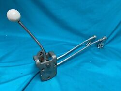 1956-62 Chevrolet Corvette 3-speed Shifter With Rods - Nos