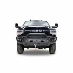 Fab Fours Dr19-x4452-1 Matrix Front Bumper Pre Runner With Winch For Ram New