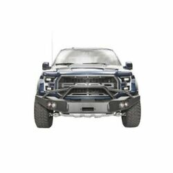 Fab Fours Ff17-h4352-1 Premium Front Winch Bumper For Ford F-150 Svt Raptor New