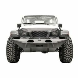 Fab Fours Gr4610-1 Full Width Grumper For Jeep Wrangler Jl 2 And 4 Door New