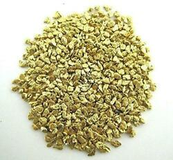 Alaskan Yukon Gold Rush Nuggets 20 Mesh 1/4 Troy Oz 7.75 Grams Or 5 Dwt