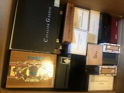 Lot Of 50 Wooden Cigar Boxes Mixed Brands All Premium Cigars Free Shippingandnbsp