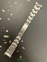 Rolex Date Men's Oyster 7205 Bracelet 19mm Stainless Steel Band 60 Ends 6694