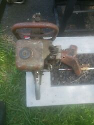 Pioneer Chainsaw Super 51 Parts Or Repair Saw