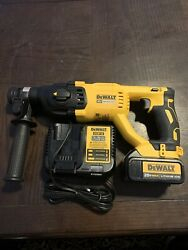 Dewalt Dch13320v Brushless 1-inch D-handle Rotary Hammer Drill Charger +battery