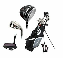 Precise M5 Menand039s Complete Golf Club Set - Right And Left Hand - Reg And Tall Sizes