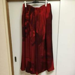 Yohji Yamamoto Pour Homme 2018 Aw Collection Red Bottom Men's Size 3 F/s From Jp