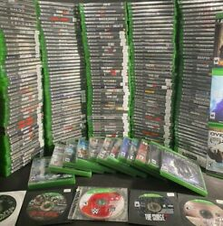 🔥🔥🔥XBOX ONE GAMES Large Lot YOU PICK EM CLEANED AND TESTED NEW amp; USED FUN4ALL