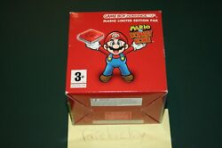 Mario Vs. Donkey Kong Limited Edition Gameboy Advance Sp Console Bundle - New
