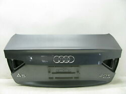 08-17 Audi A5 S5 B8 Coupe Trunk Lid Shell Oem 032320