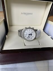 Longines Master Collection Moonphase L26734783. Comes With Original Leather Band
