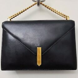 Hermes Alcazar Black Box Calf Leather Mini Top Handle Kelly Crossbody Bag France $3,000.00