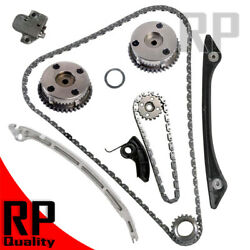 Camshaft Intake Exhaust Gear Timing Chain Kit Fit Volvo Xc60 V60 S60 V70 2.0