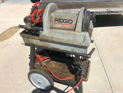 Ridgid 1822-i Power Threading Machine With Stand Local Pickup Only Denver