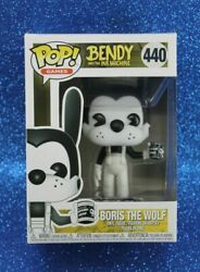 Funko Pop Games Bendy And The Ink Machine 440 Boris The Wolf Can Of Soup Vinyl