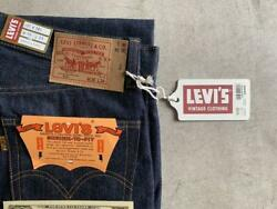 Levi's Limited 501 Vintage 1971 Model Golden Ticket Jeans 2xl From Japan F/s