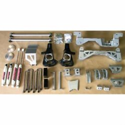 Mcgaughys 50720 7-9 Premium Silver Lift Kit For 2007-13 Gm Truck 1500 4wd New