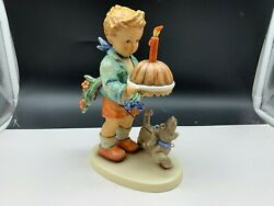 Hummel Figurine 9/ii Wisher 7 7/8in 1 Choice. Top Condition