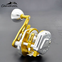 Camekoon Lever Drag Saltwater Fishing Reel With 77lbs Drag For Big Game Fishing