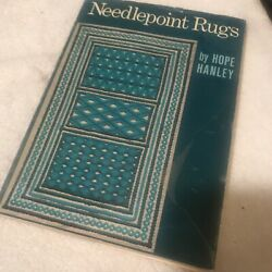 Needlepoint Rugs By Hope Hanley - Hardcover With Jacket Pub Scribners 1971 Vg