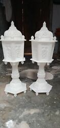 Stylish And Antique Pure Mughal Design Table Lamp
