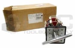 New Specialty Switch Company 6 Position Transformer Switch