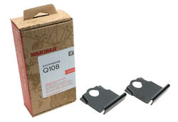 Yakima Q108 Q Tower Clips W/ A Pads And Vinyl Pads 00708 2 Clips Q108