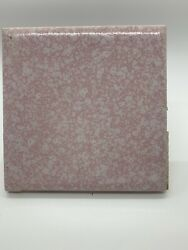 Retro Vintage Pink Bathroom Tiles And Other Accessories