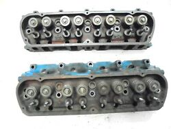 1969 Mustang 302 V-8 Engine Cylinder Heads - C90e - Pair